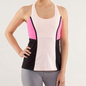 Lululemon Cool Racerback *Surf Bonded Parfait Pink